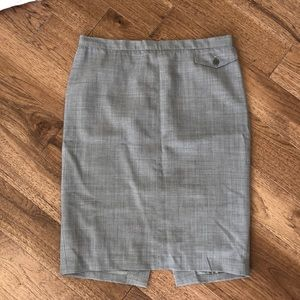 Gray BCBG pencil skirt